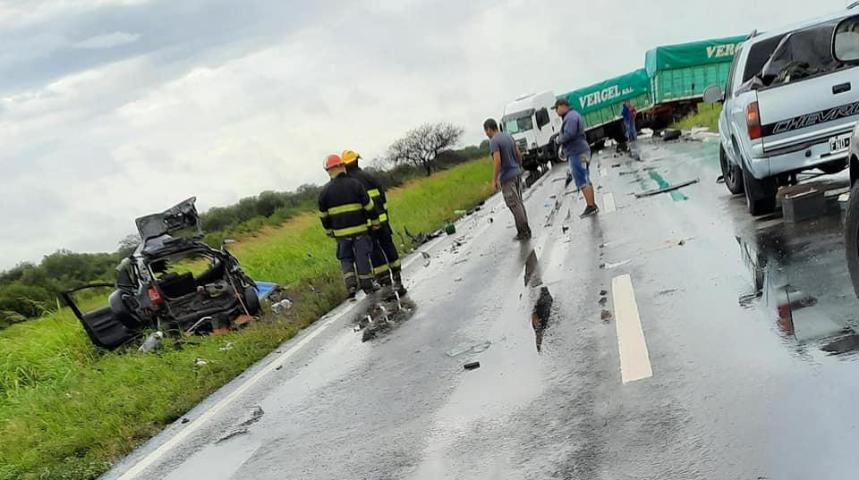 Accidente en ruta 95